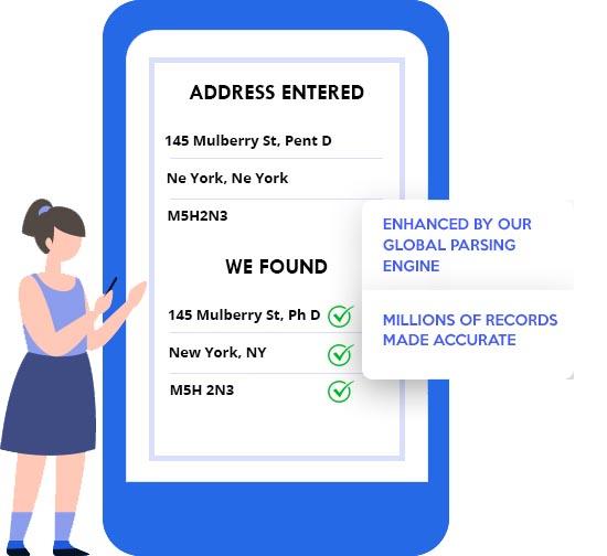 postal address validation service