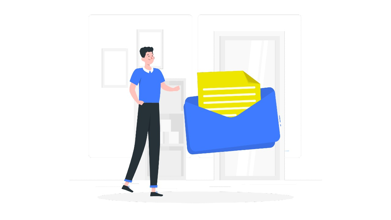 direct mail yellow letters